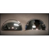 HALF MOON HEADLIGHT SHIELDS---5 3/4""