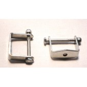SPRING CLAMPS - STAINLESS STEEL POLISHED (FITS OVER SPRING)