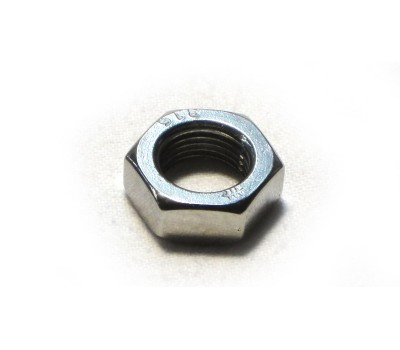 FRONT FOUR BAR ADJUSTER NUTS - POLISHED - STAINLESS STEEL - 5/8 UNF