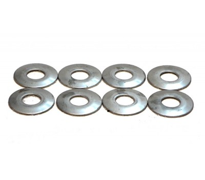 "FRONT FOUR BAR 9/16"" WASHERS- STAINLESS STEEL UNPOLISHED SET OF 8"