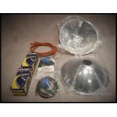 1928 / 31 FORD HEADLIGHT REFLECTOR KIT - QUARTZ-HALOGEN