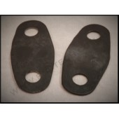 1928 / 29 FORD HEADLIGHT BAR PADS - FLAT