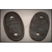 1928 / 29 FORD HEADLIGHT BAR PADS - LIPPED