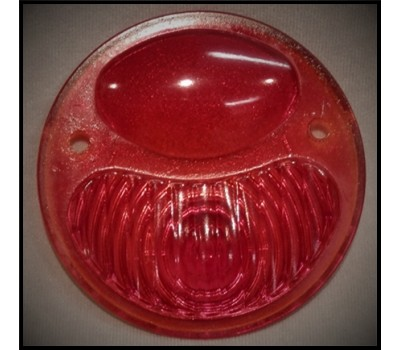 1928 / 31 FORD TAIL LIGHT LENS ONLY - RED