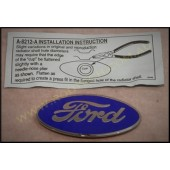 1929 / 30 FORD GRILLE SHELL EMBLEM - FORD OVAL