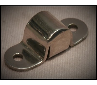 1928 / 31 FORD FRONT HOOD HINGE RETAINER - STAINLESS STEEL