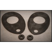 1933 / 34 FORD HEADLIGHT STAND PADS - LIPPED