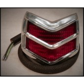1940 FORD TAIL LIGHT ASSEMBLY - DELUXE - RED