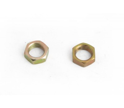FRONT FOUR BAR ADJUSTER NUTS - MILD STEEL ZINC PLATED