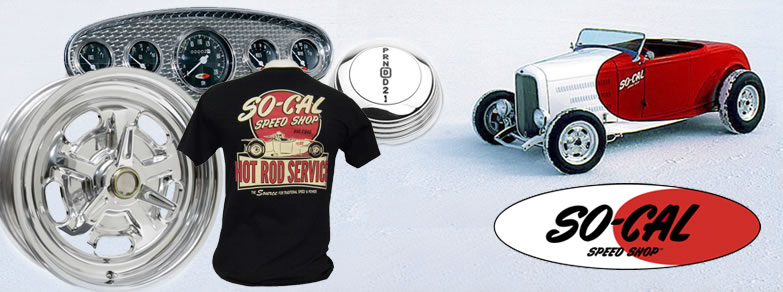 Socal Speed shop Parts and Accessories