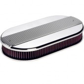 Dual Quad Air Cleaner - Ribbed