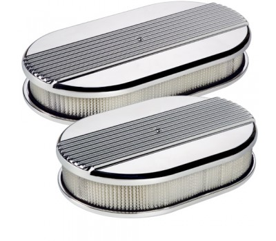 Oval Air Cleaner - Ribbed