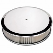 Round Air Cleaners 14inch - Plain