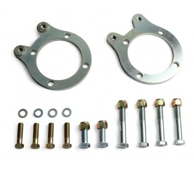 FRONT BRAKE CALIPER MOUNTING PLATES & BOLT KIT TO SUIT VR-VS COMMODORE CALIPERS - SUIT 37-48 STUBS