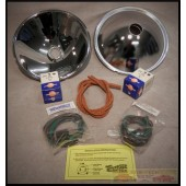 1932 FORD HEADLIGHT REFLECTOR KIT - QUARTZ-HALOGEN