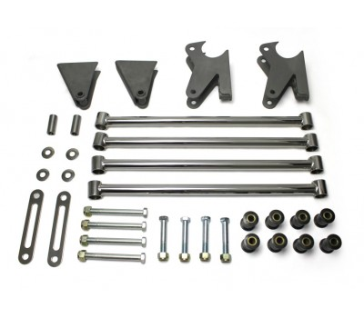 MODEL A REAR 4 BAR KIT PARALLEL - STAINLESS STEEL