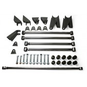 32 FORD REAR 4 BAR KIT  PARALLEL - STAINLESS STEEL