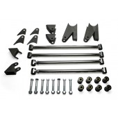 32 FORD REAR 4 BAR KIT TRIANGULATED - STAINLESS STEEL