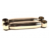 FRONT SHOCKS STAINLESS STEEL - POLISHED - STANDARD - 210-310