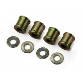 COIL OVER SHOCKS SPACER SET - MILD STEEL - SET OF FOUR WIDE INC WASHERS